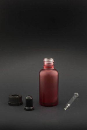 e liquid glas flasche