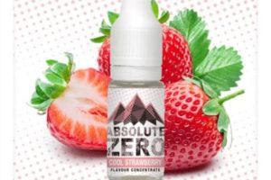 Absolute Zero Strawberry aroma