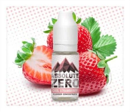 Absolute Zero Erdbeere aroma