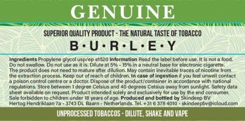 Burley Tabak extrakt