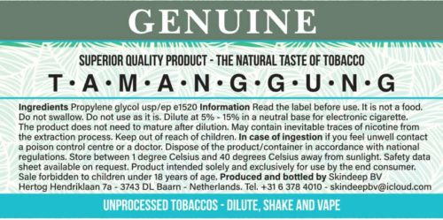 Estratto di tabacco Temanggung originale